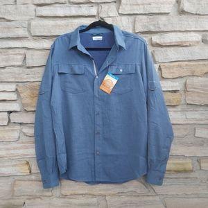 Columbia Gavin Ridge Heather Long Sleeve Shirt